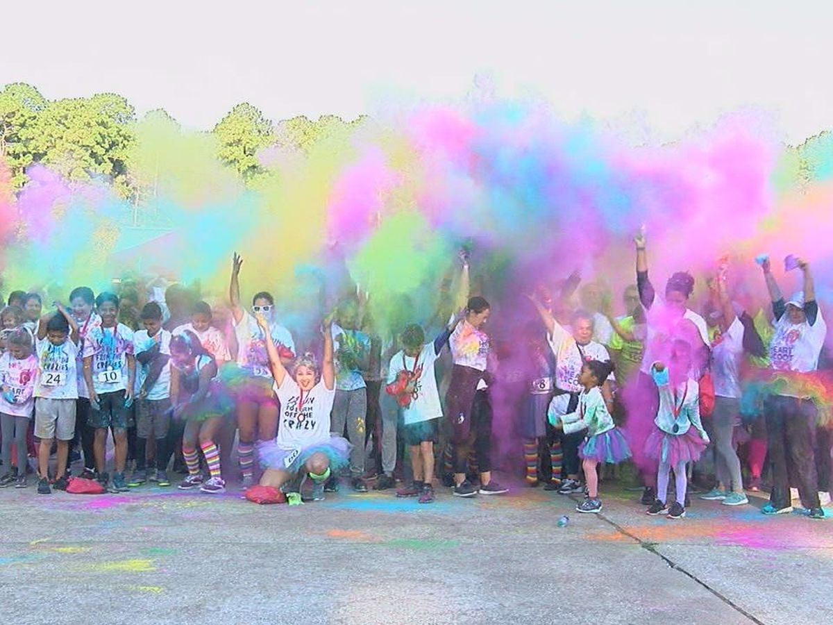 Angelina County Heart Alliance hosts Color Run/Walk to raise awareness on heart disease
