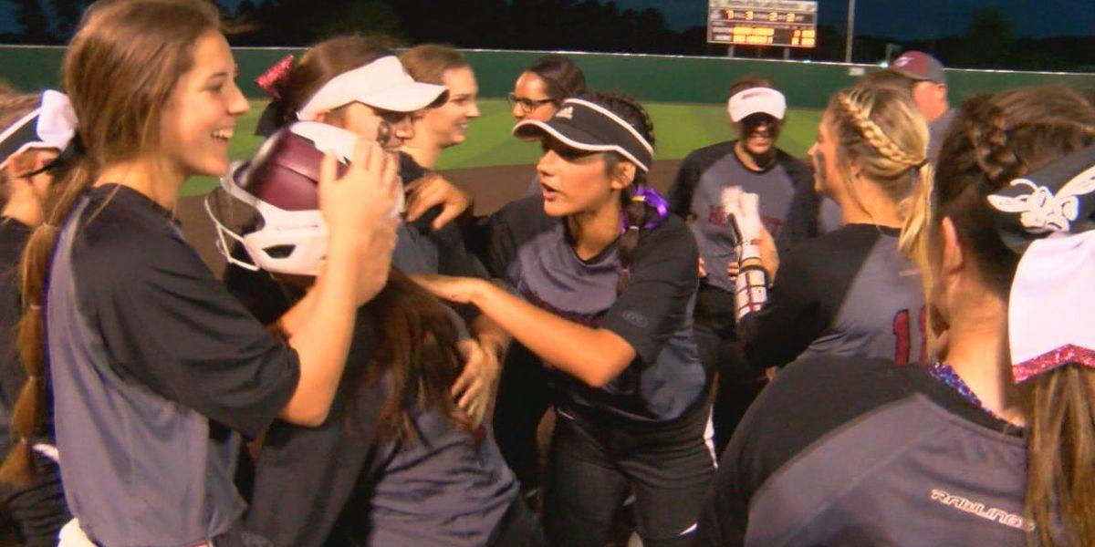 Friday night on the diamond: Hudson softball walks it off against Carthage
