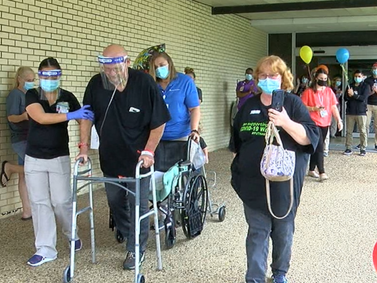 Lufkin COVID-19 survivor home after spending 3 months in hospital