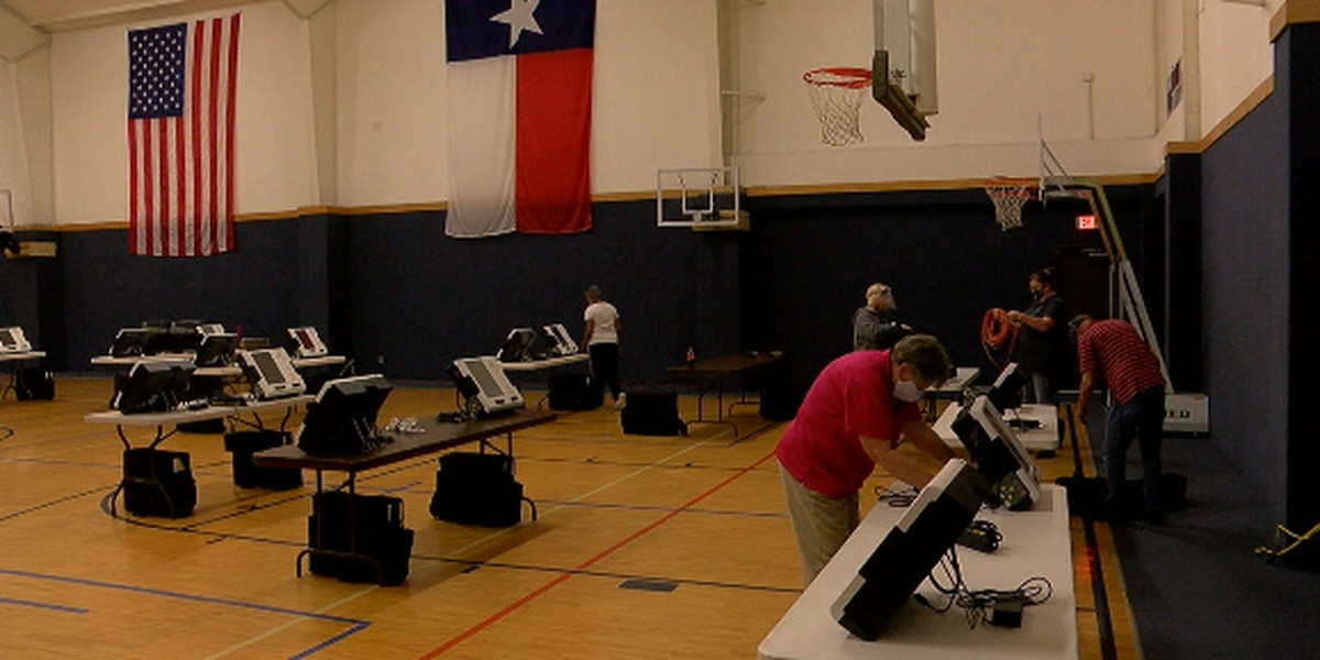 Angelina County Elections Administration spends weekend preparing for early voting