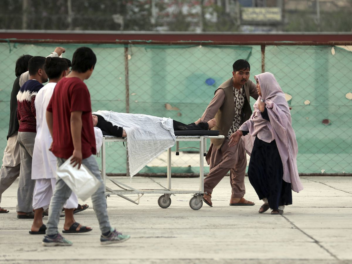 Bomb kills at least 30 near girls' school in Afghan capital