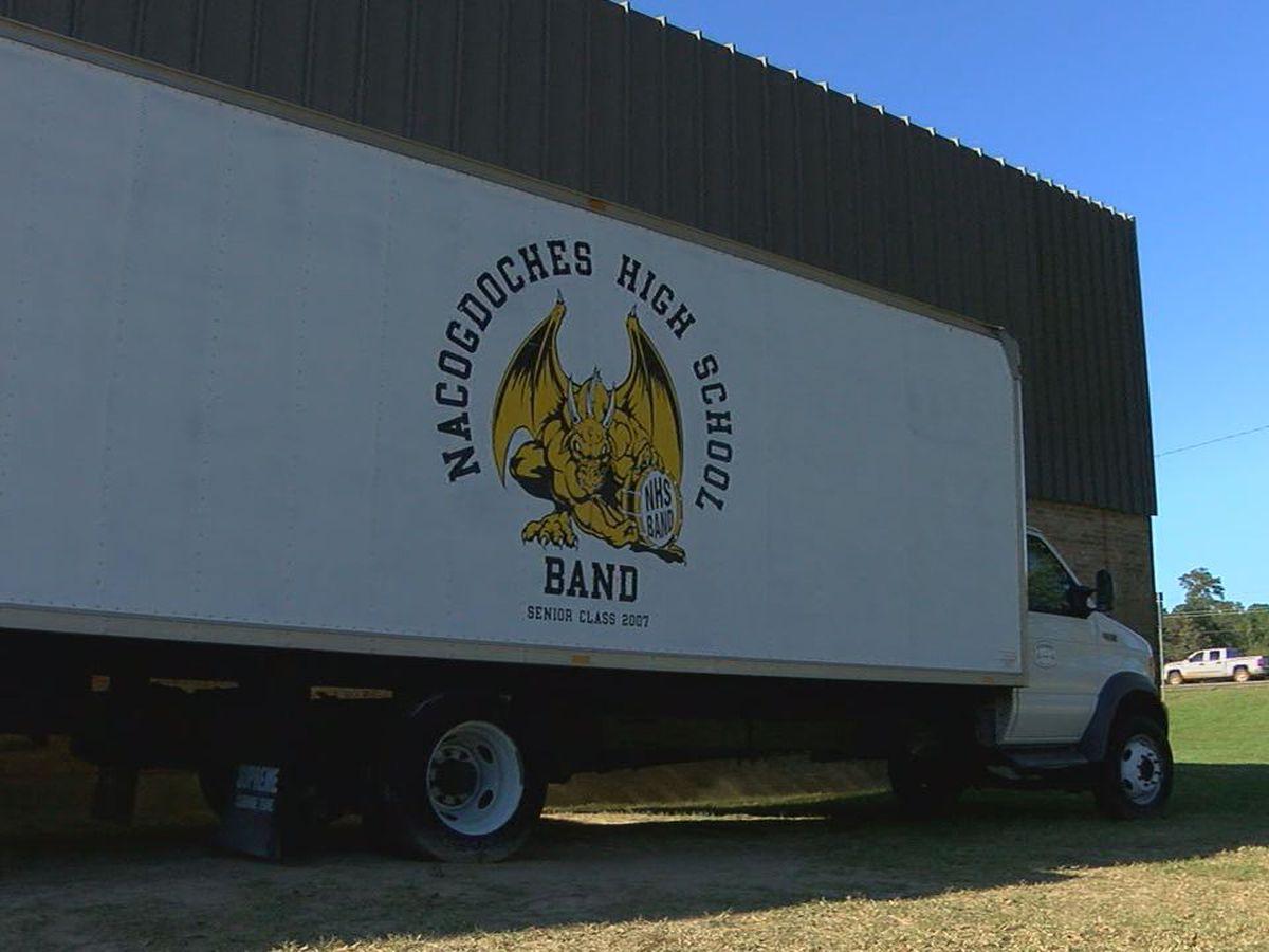 Nacogdoches HS annual band BBQ prep work begins