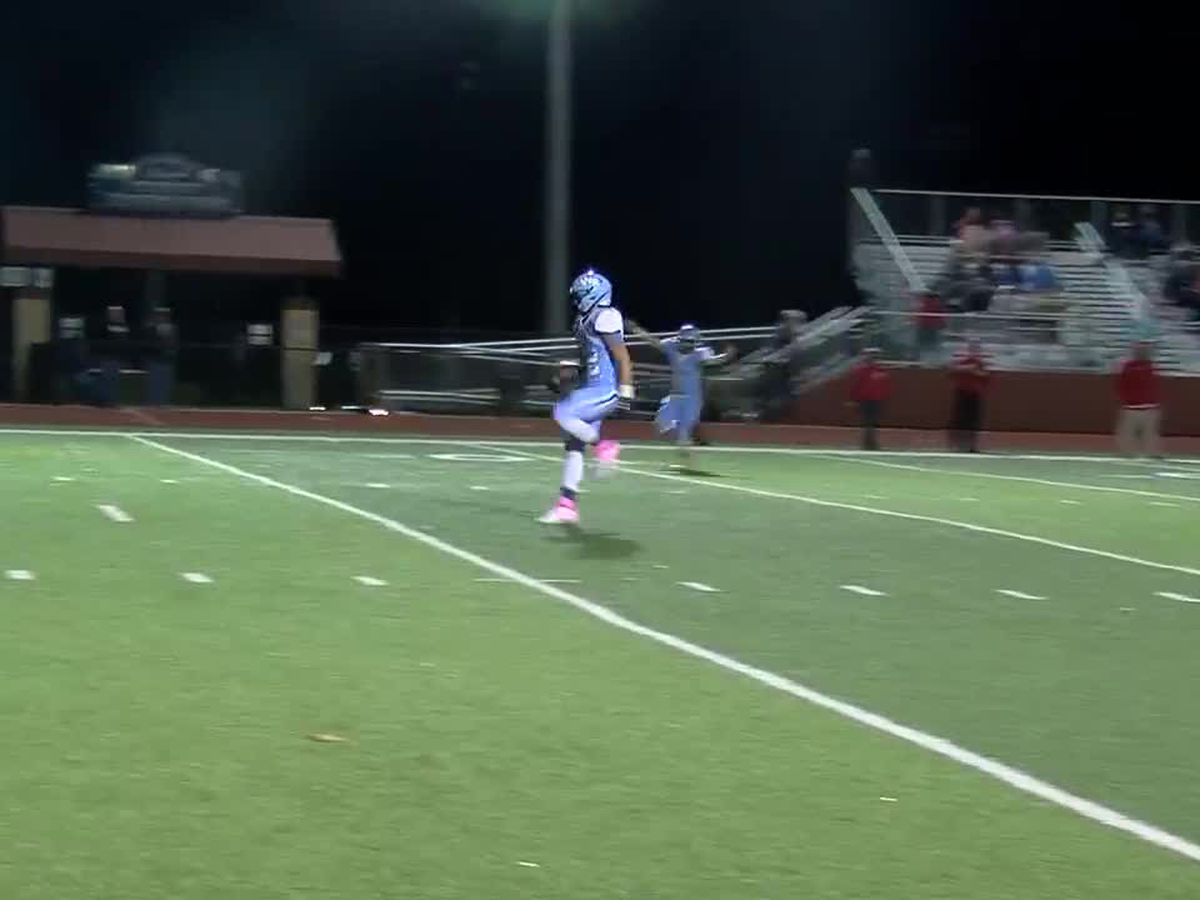 WATCH: West Rusk gets off to a fast start with this long pass and run