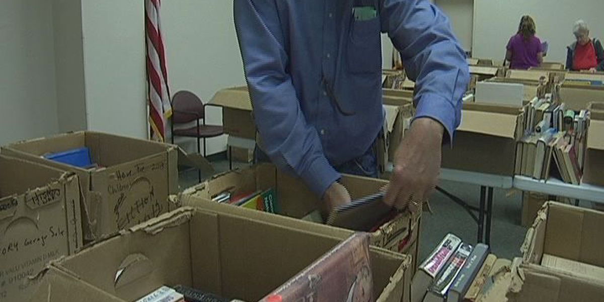 Book sale at Kurth Library this weekend