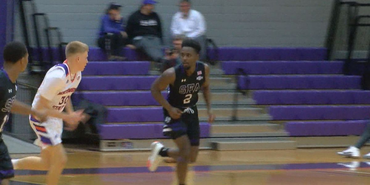 Wednesday night hoops: SFA teams sweep Northwestern, AC teams split conference contests
