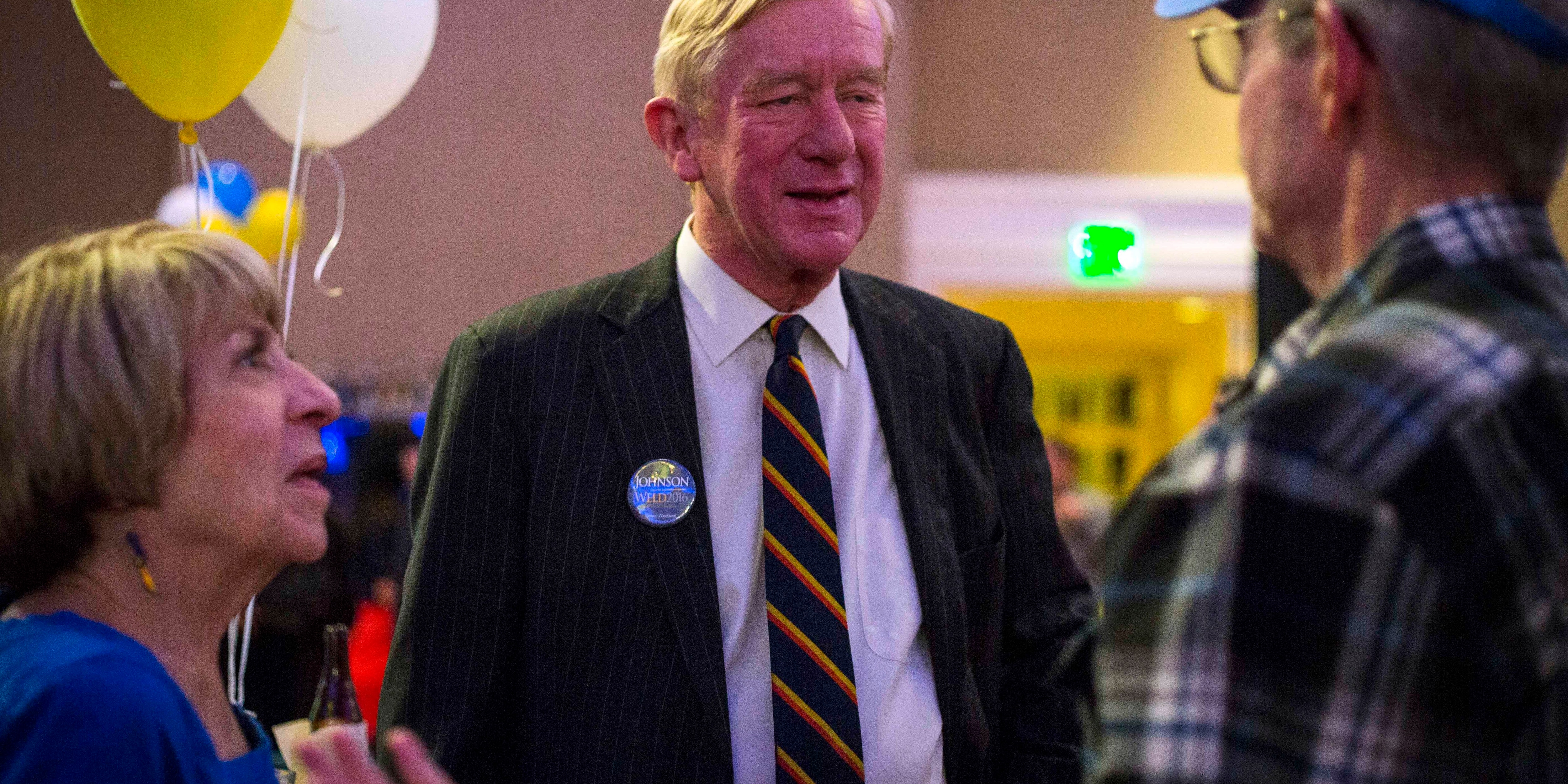 Former Mass. governor announces GOP primary challenge to Trump