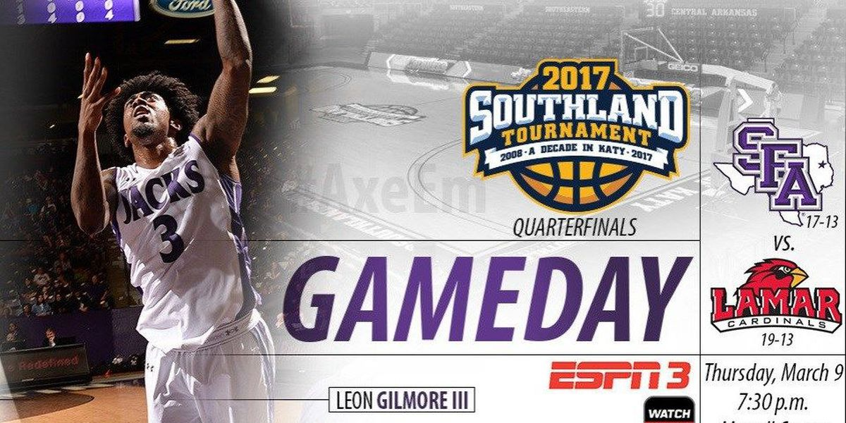 'Jacks square off with Lamar in Southland Conference Tournament Quarterfinal round Thursday