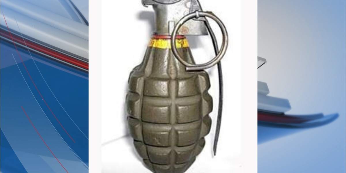 ATF recovers live grenade sold at N.C. thrift store in Horry County, SC