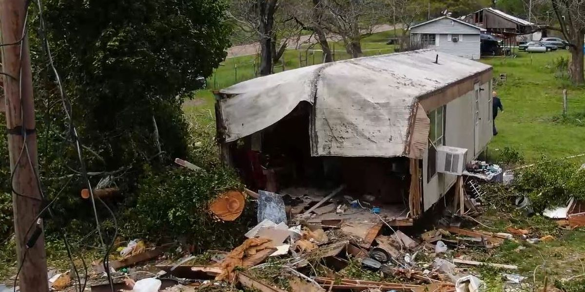 Volunteer group working to buy home for man who lost his and his wife in a tornado