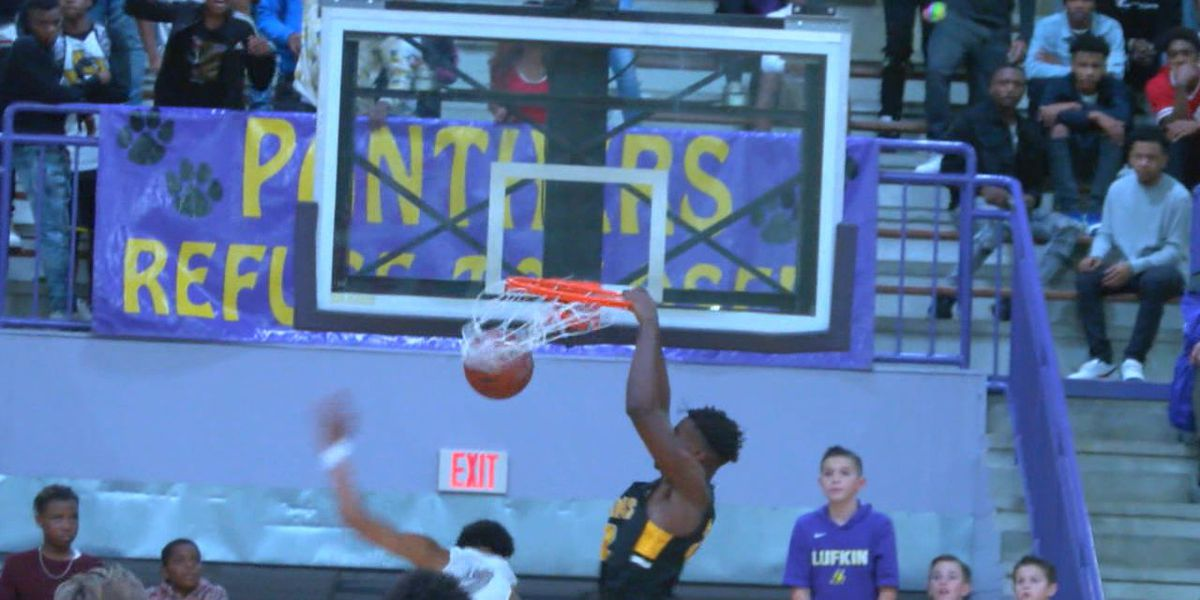 Lufkin, Nac split district games Tuesday night