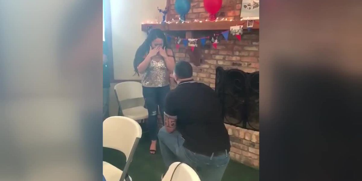 VIDEO: Lufkin's Erick McCoy proposes to girlfriend following NFL draft pick