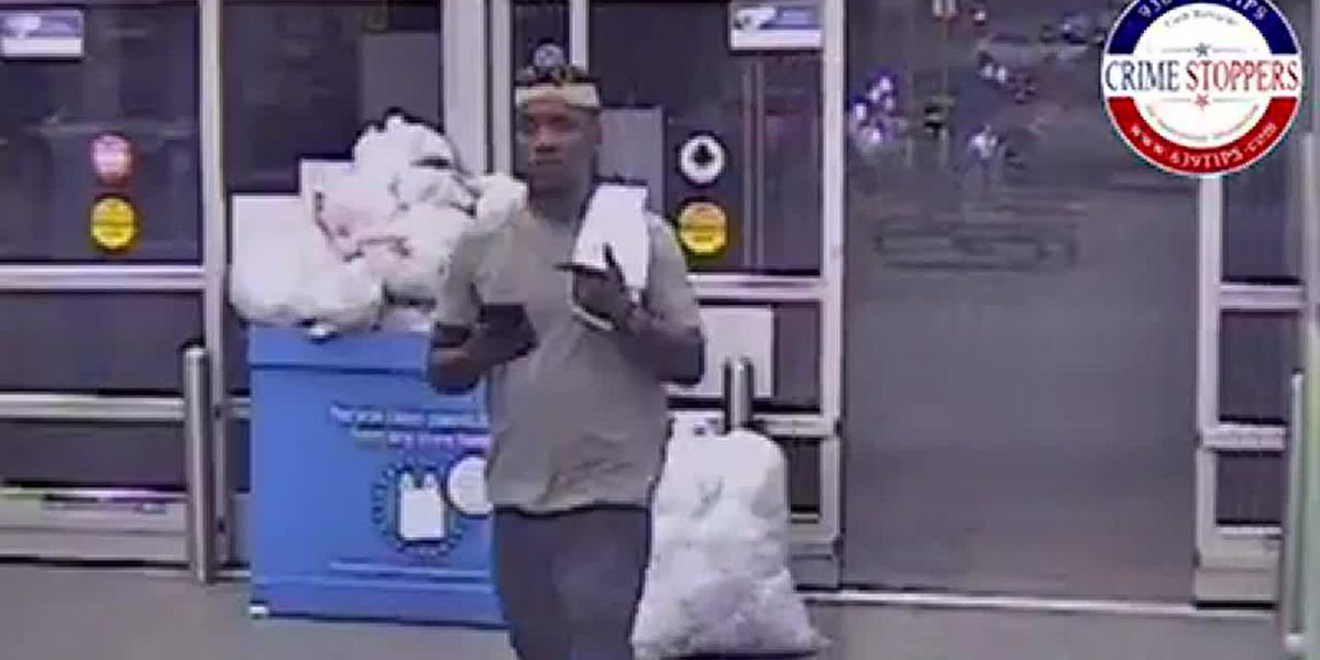 Lufkin Crimestoppers searching for man who reportedly exposed himself to Walmart employee