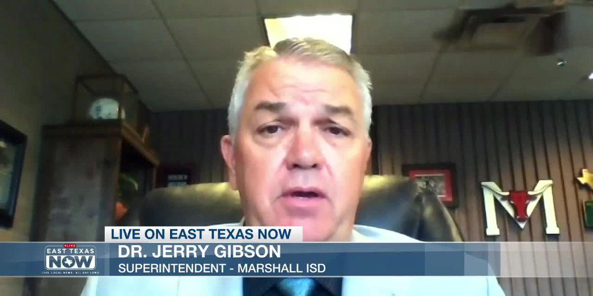 WATCH: Marshall ISD Superintendent Dr. Jerry Gibson on 'making lemonade from lemons'