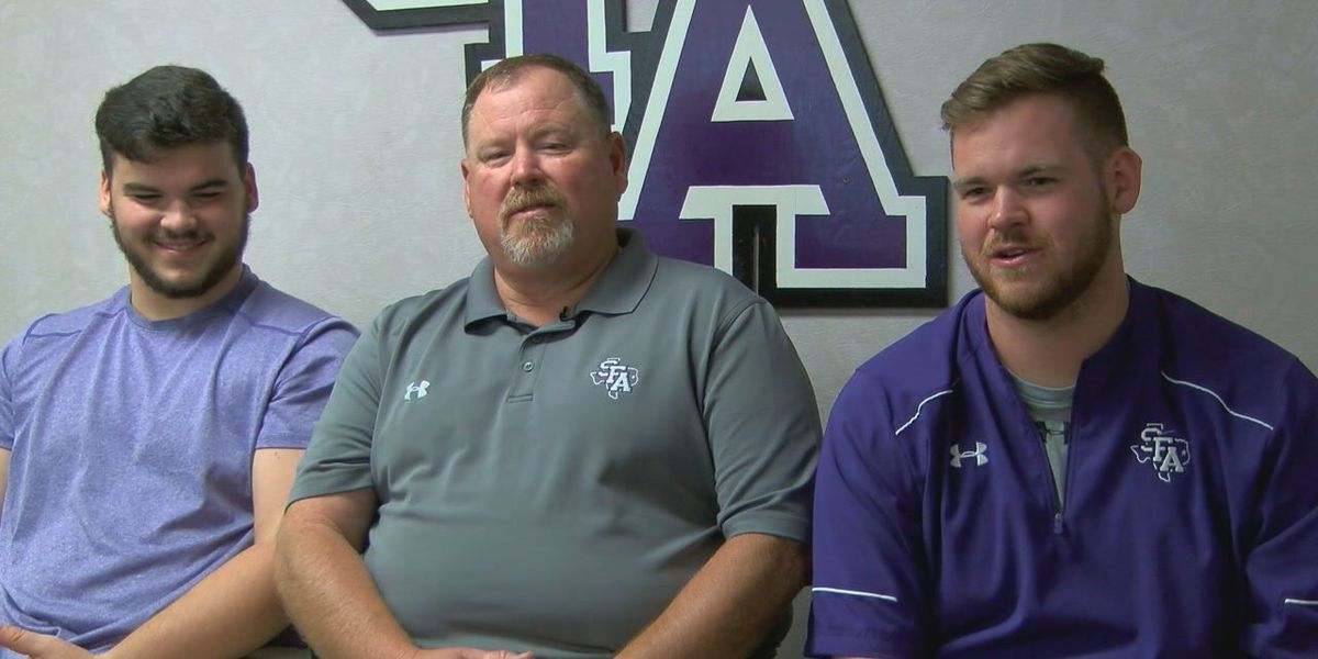 Nacogdoches dads double as co-workers