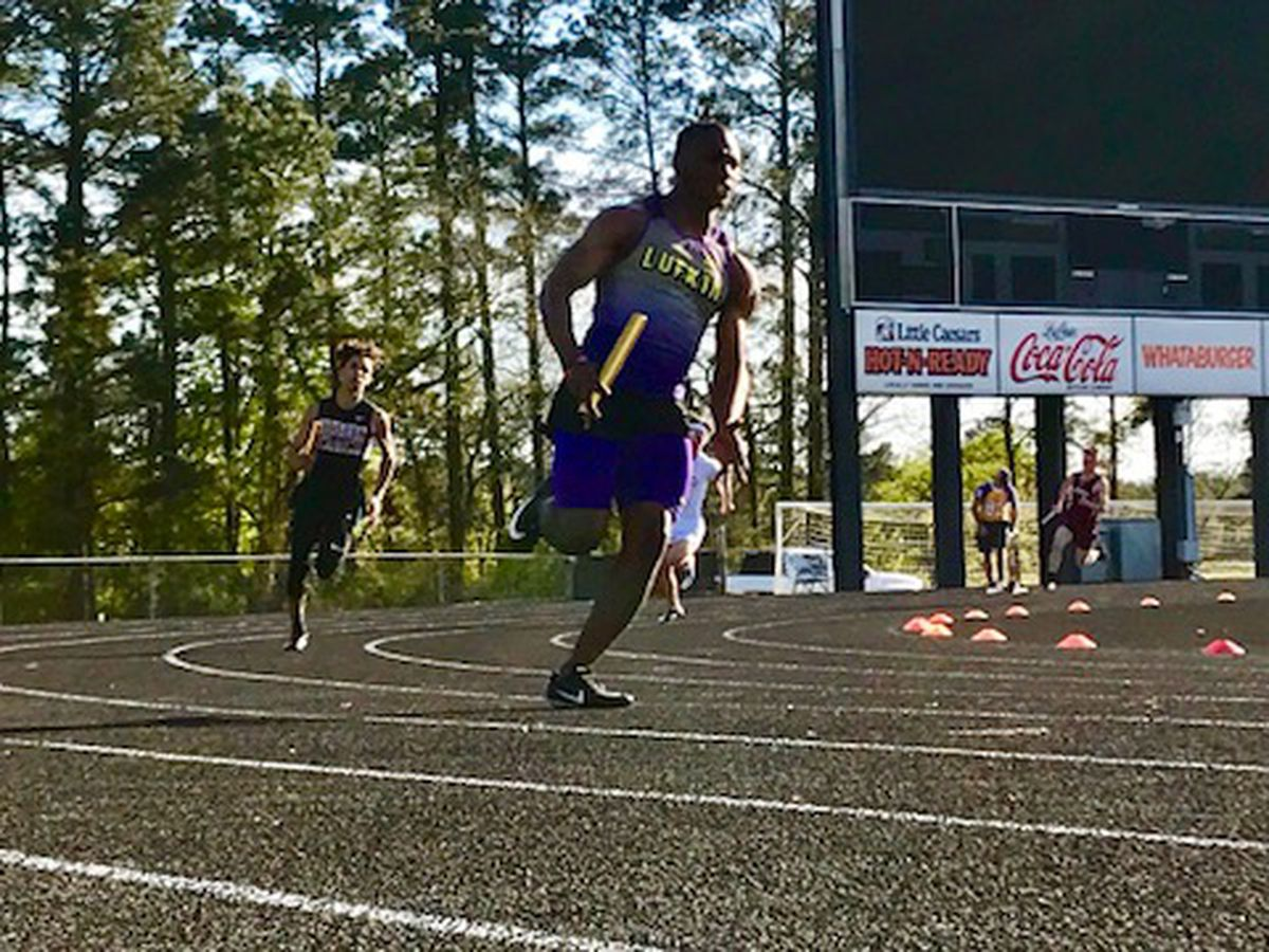 Lufkin boys defend home turf at 2019 Willie Ross Relays