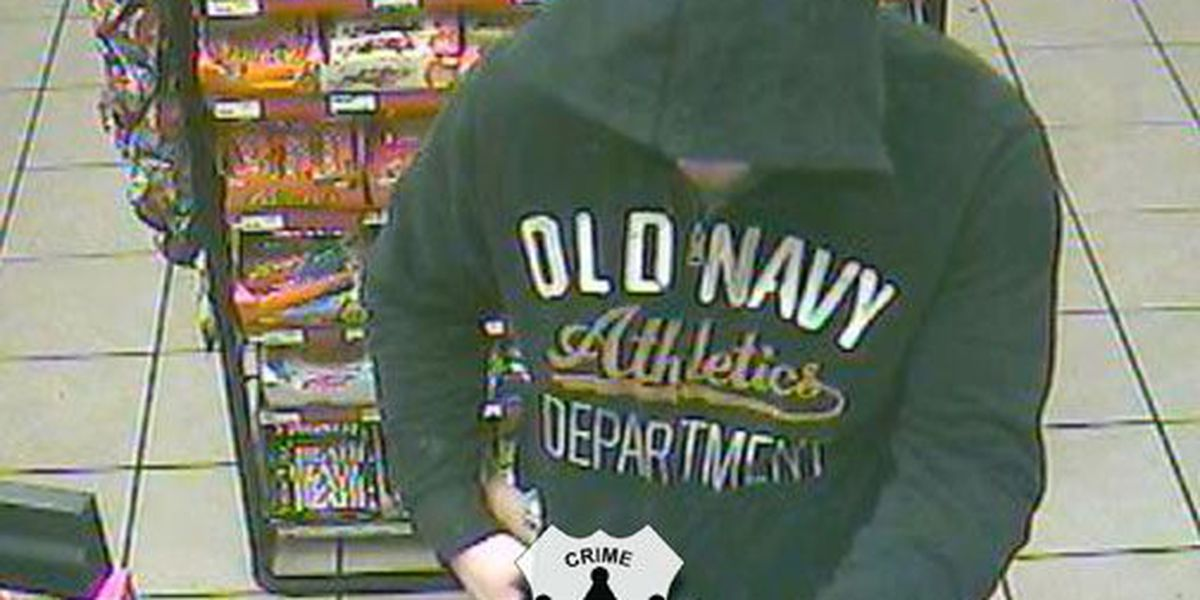 Crime Stoppers Crime of the Week: Convenience store robbery