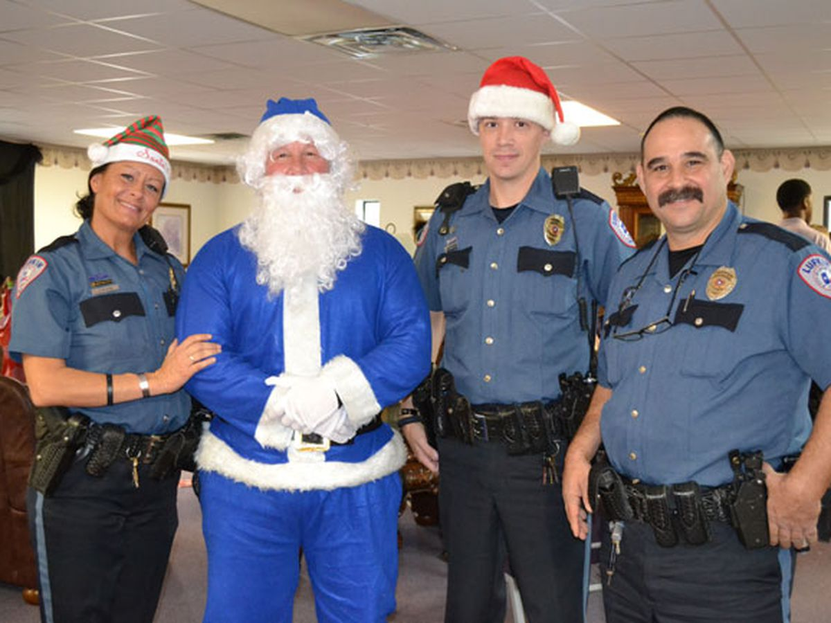 Lufkin PD's Blue Santa program hopes to help needy children have a special Christmas