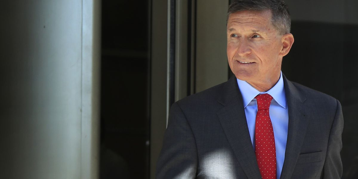 Flynn heads to sentencing, with 'Good luck' wish from Trump