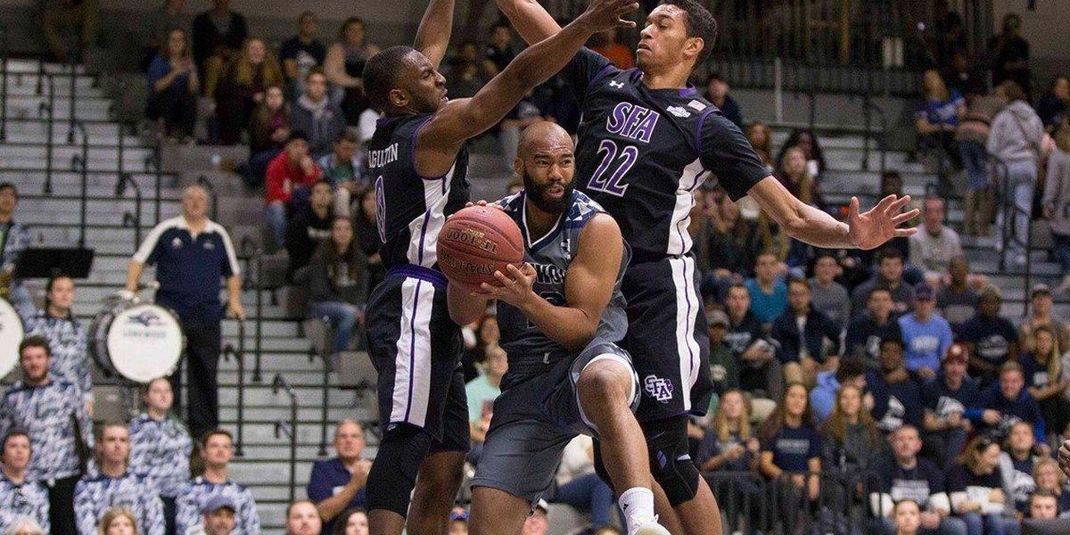 SFA basketball wins season opener at Longwood