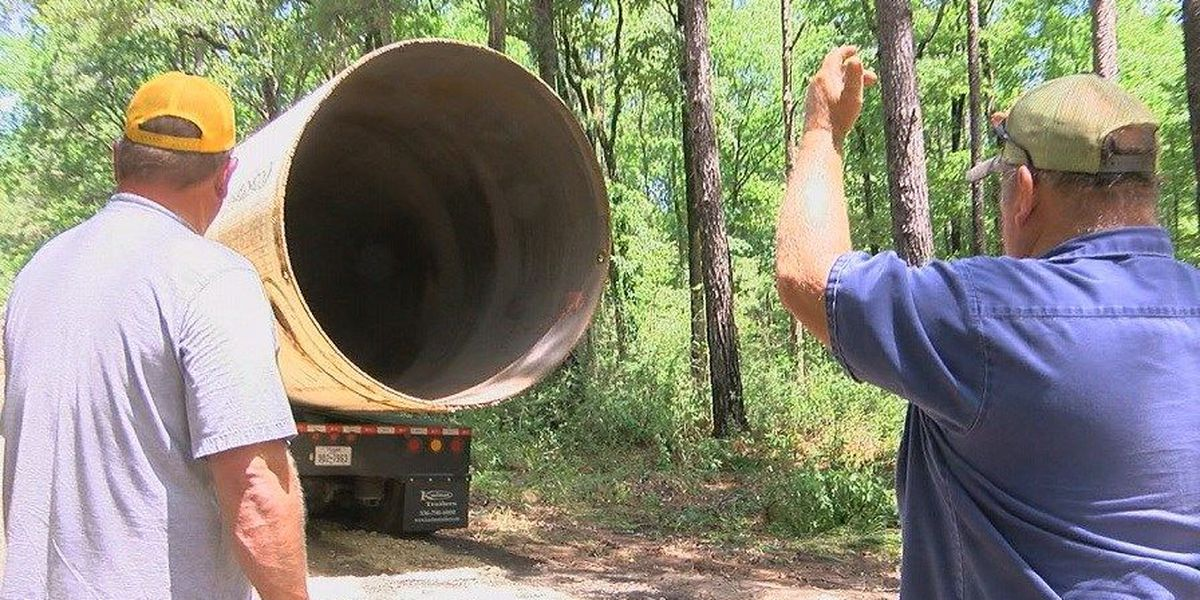 Zavalla replaces culverts that left residents stranded