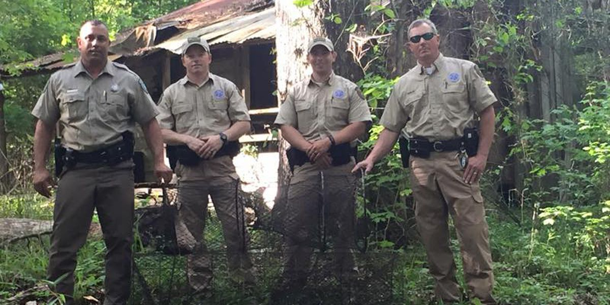 Texas Game Wardens investigate illegal fishing nets in San Augustine Co.