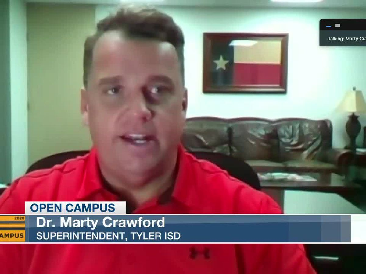 Tyler ISD superintendent says COVID-19 rates within system are 'pretty minute'