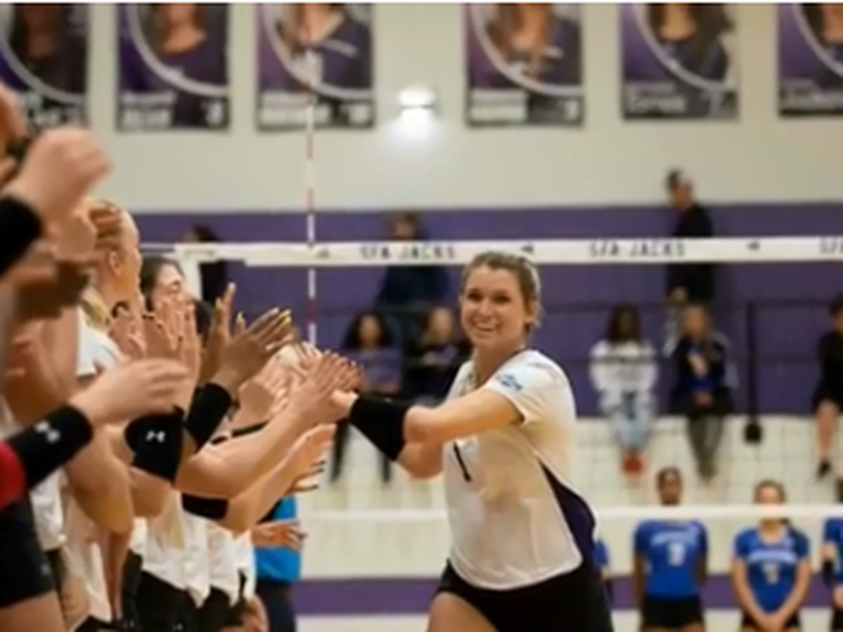SFA Ladyjacks best Nicholls 3-0, extend winning streak to 20