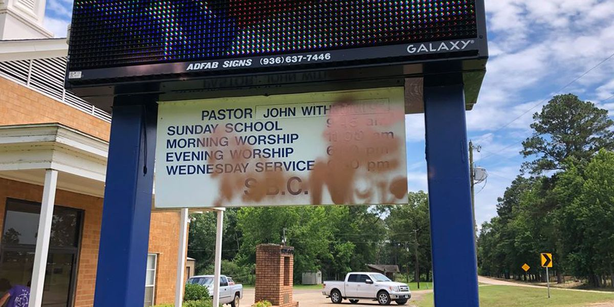Crime Stoppers seeks information on vandalism of Nacogdoches County church