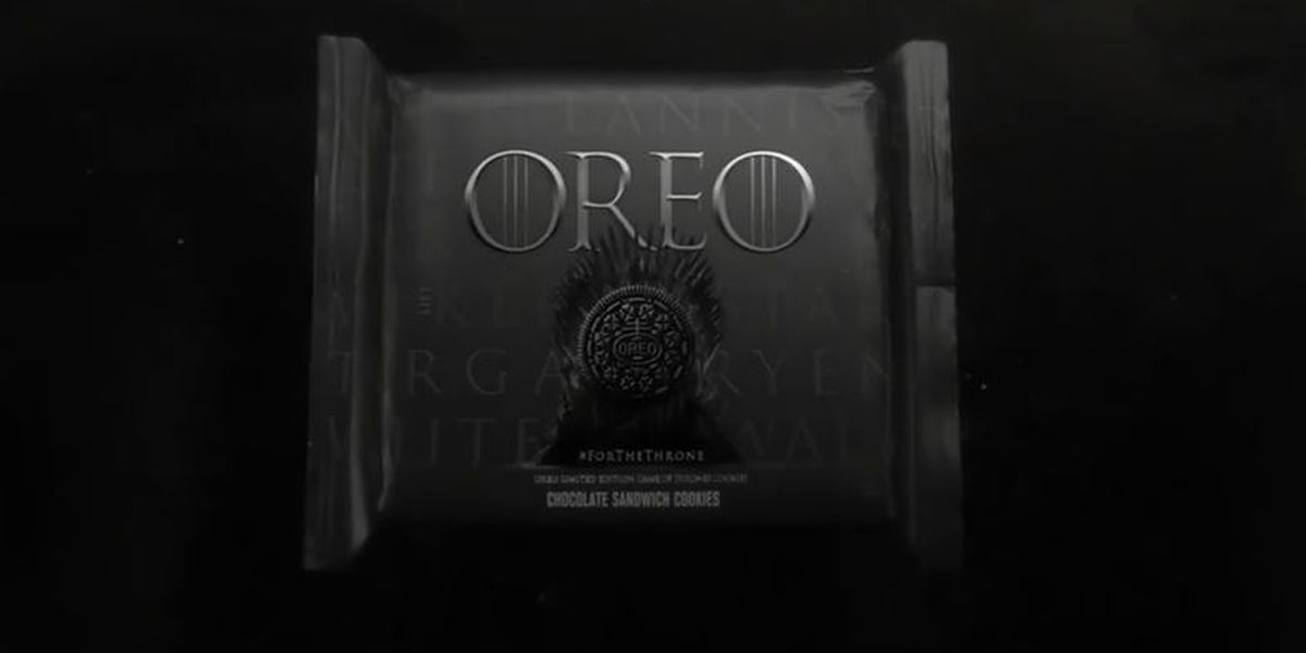 'Game of Thrones' Oreos hit stores Monday