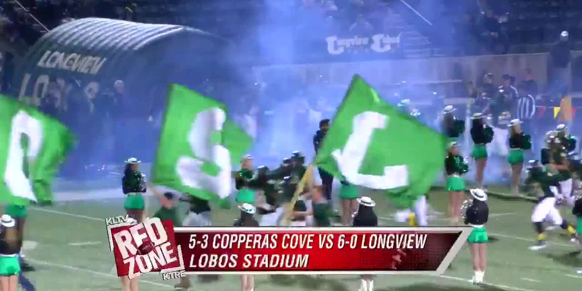 Red Zone Week 12: Copperas Cove vs Longview
