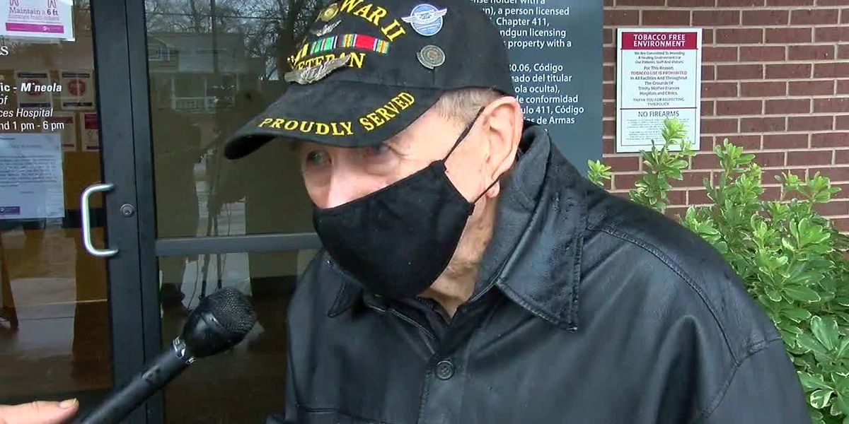97-year-old East Texas man gets COVID-19 vaccine