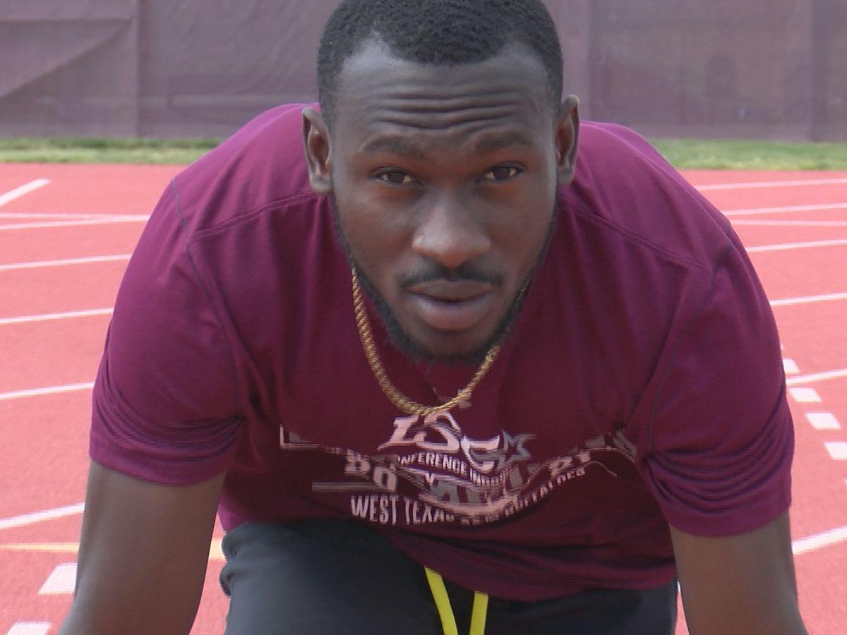 Olympic qualifier, WTAMU's Benjamin Azamati, one of the fastest men in the world
