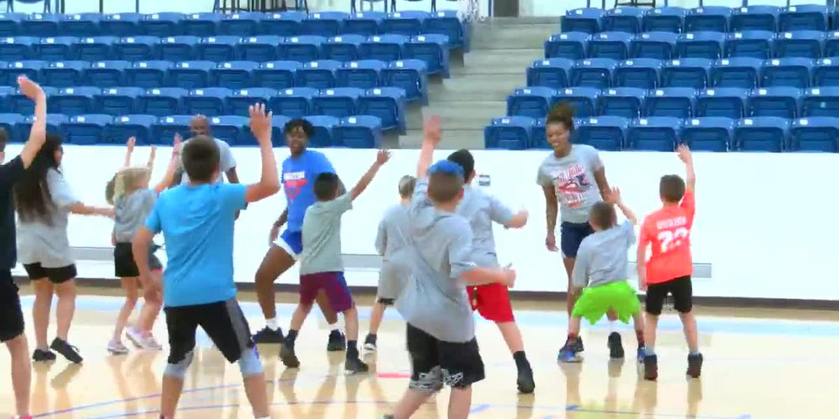 WEBXTRA: Angelina College, Lufkin ISD putting on basketball camp