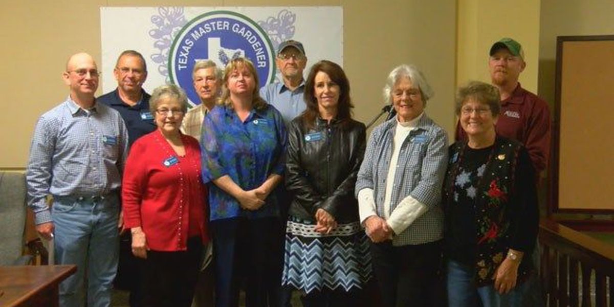 San Augustine Master Gardeners have many new projects on tap for 2017