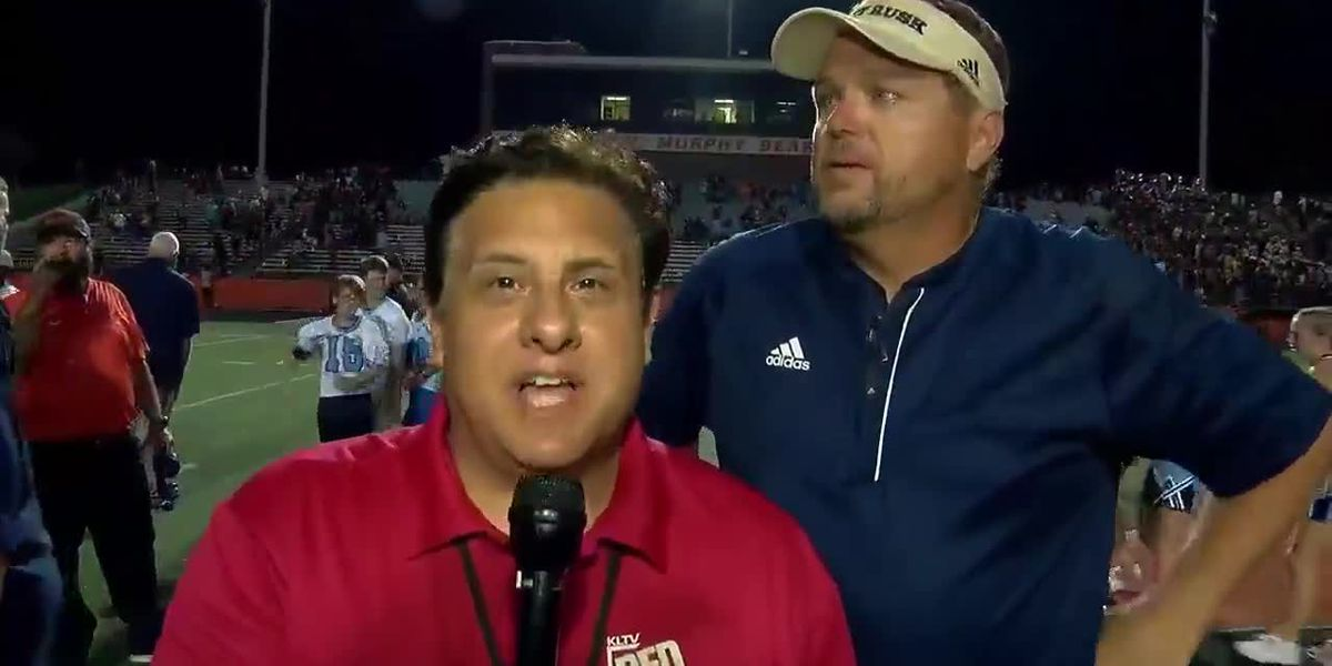 Gladewater vs. Rusk Post game interview