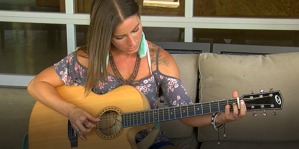 'It's about doing things that scare you': East Texas woman follows dream of being a singer/songwriter