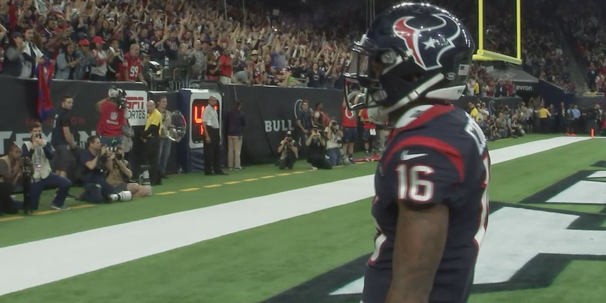 A healthy Keke Coutee is a must for the Texans