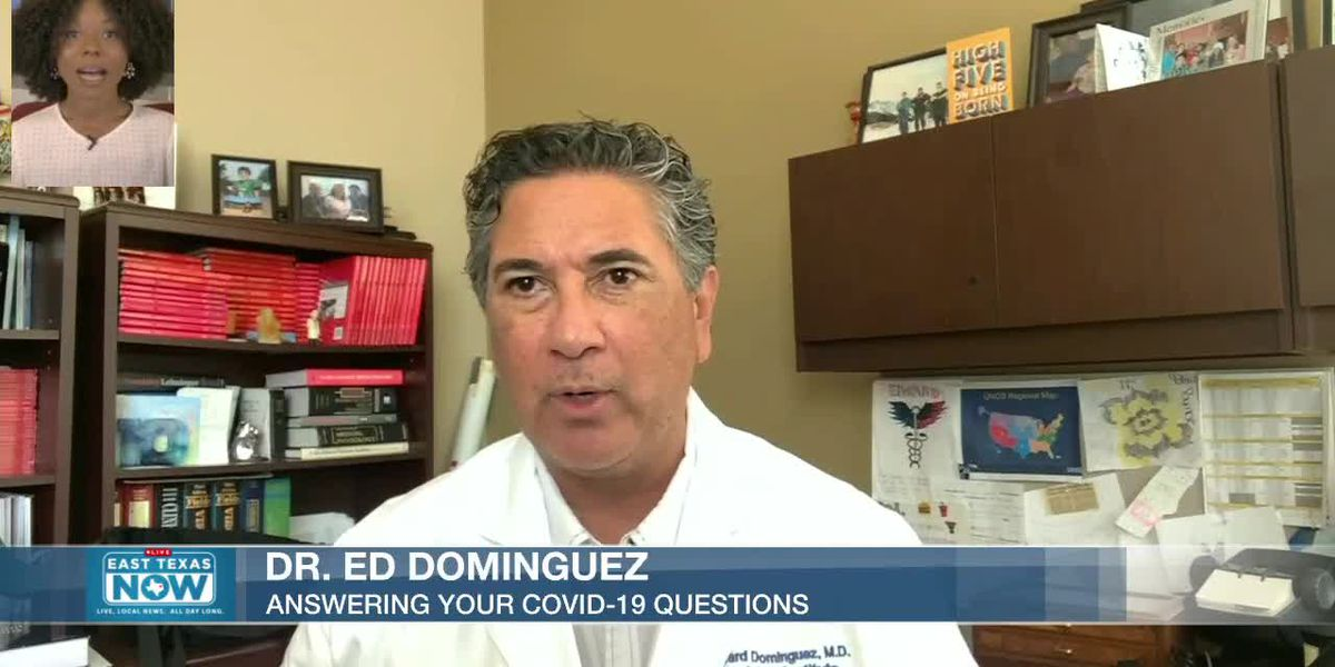 WATCH: DR. Ed Dominguez answers questions about COVID-19 treatment updates, prevention