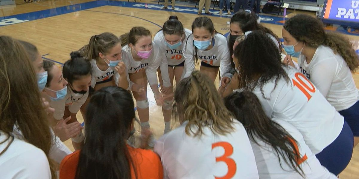 UT-Tyler volleyball sweeps their way into LSC finals