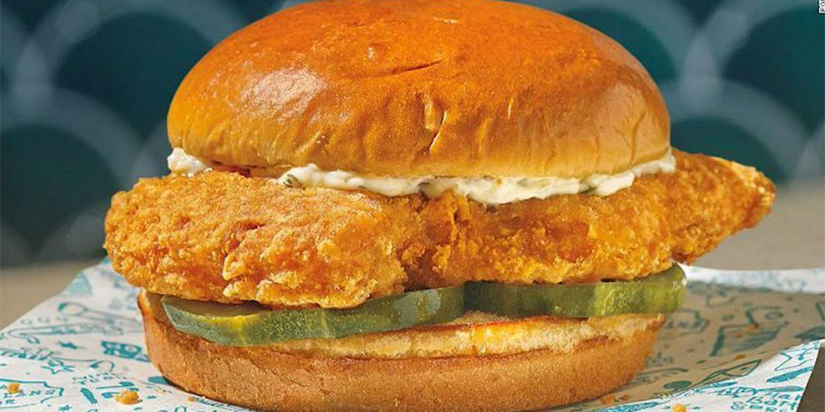 Popeyes launching fish sandwich