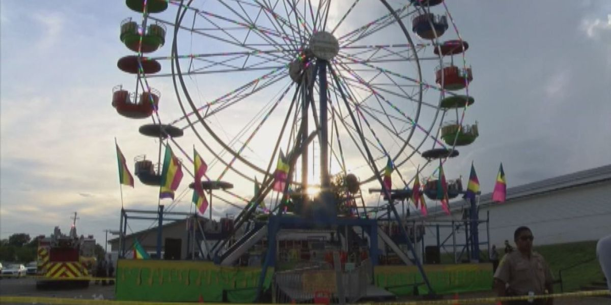Texas Forest Festival's carnival ride protocols in place to ensure rider safety