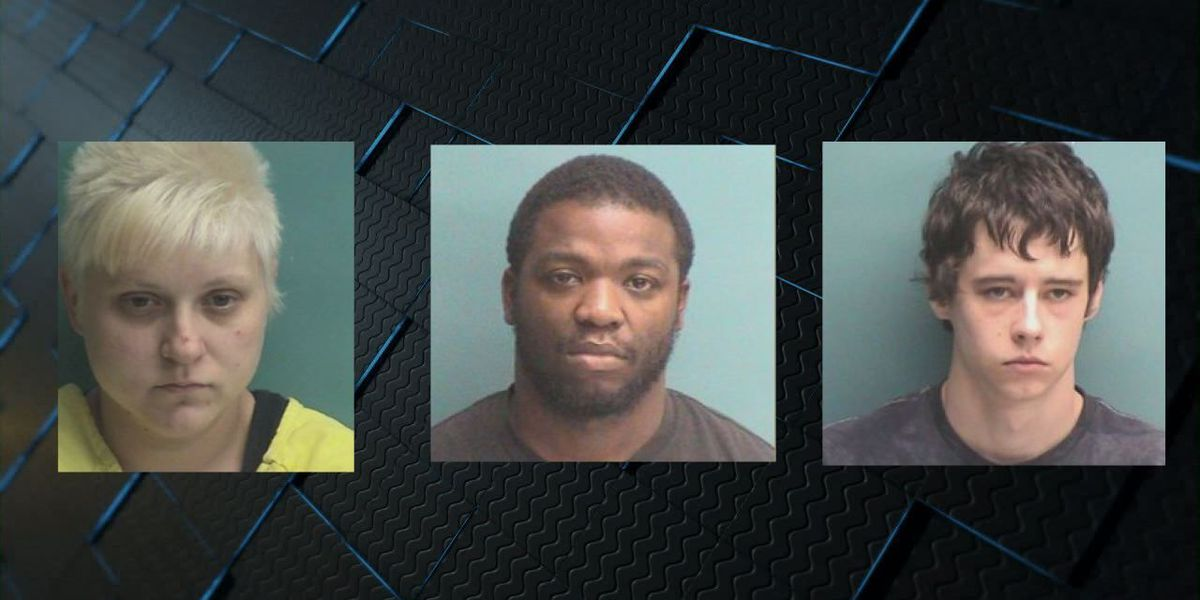 Undercover operation nets 3 felony drug arrests in Nacogdoches Co.