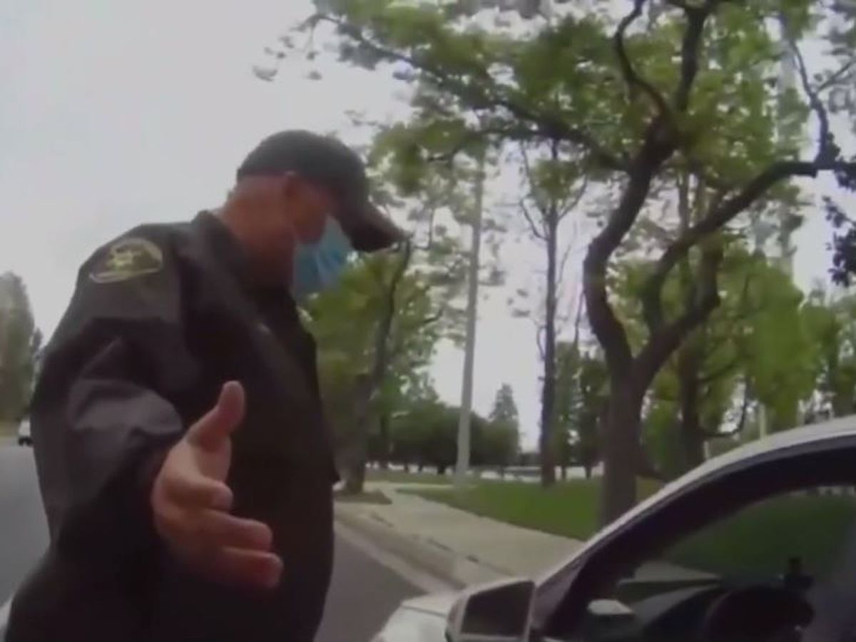 'You'll never be white': Driver goes on racist rant against deputy during traffic stop