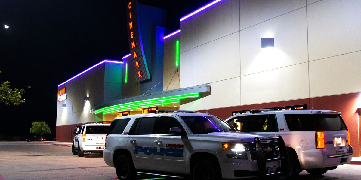 Lufkin officer assaulted at movie theater, suspect flees scene
