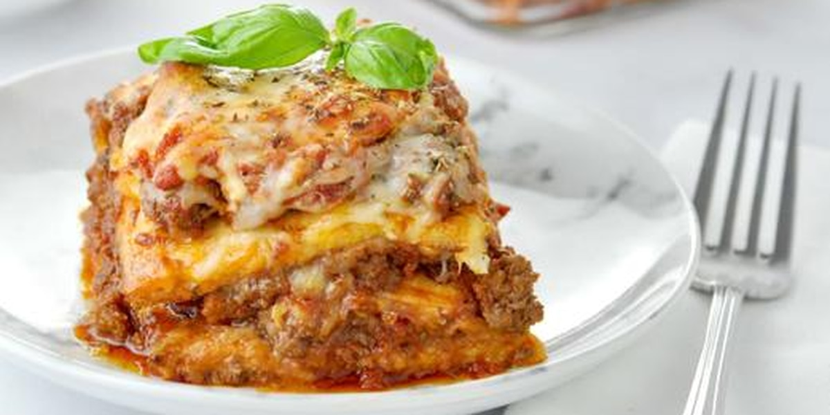 Cabbage lasagna by Brigitta's Hungarian Restaurant
