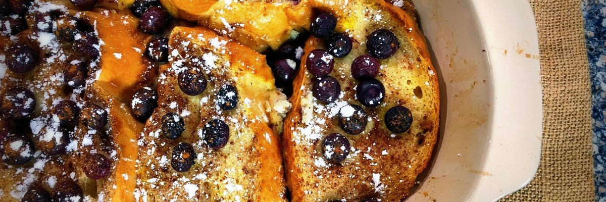 Mama Steph's French Toast Casserole