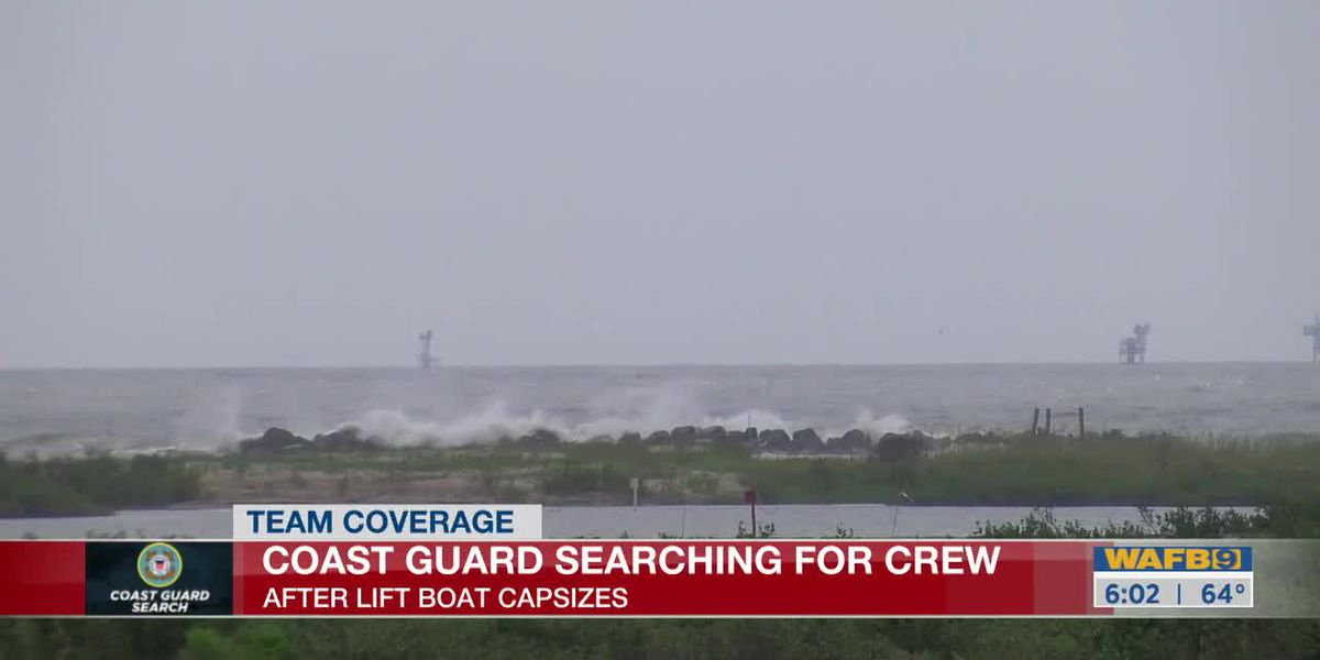 Search continues for missing passengers from capsized lift boat