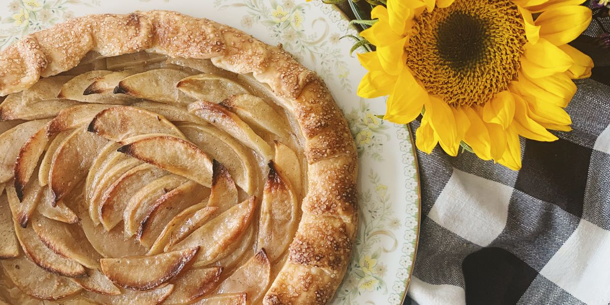 Maple + Brown Butter Apple Galette by Pearl's Kitchen