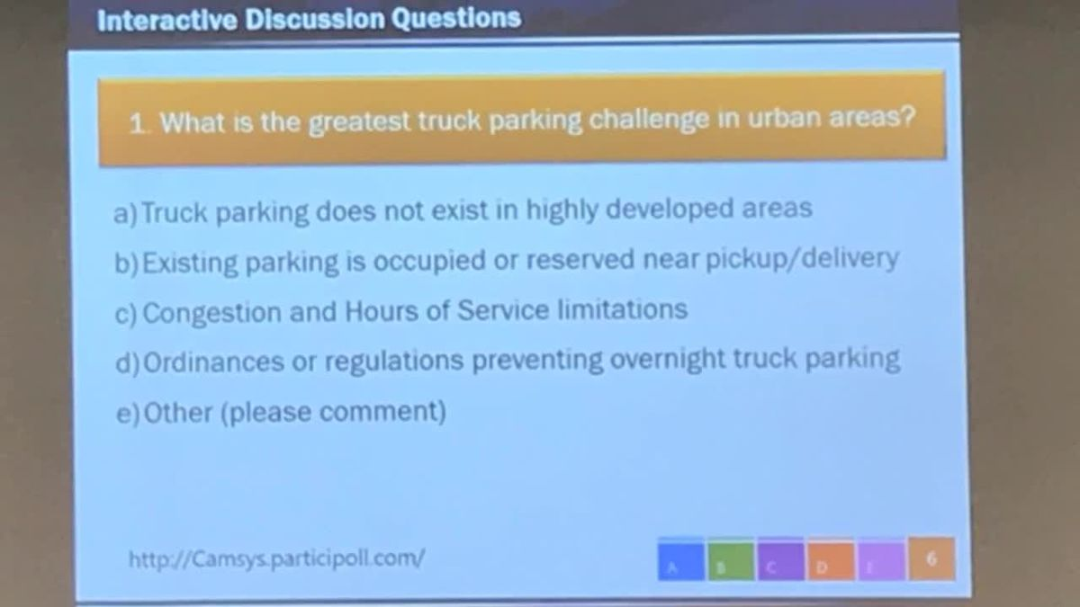 Angelina College hosts statewide truck parking strategy, safety meeting
