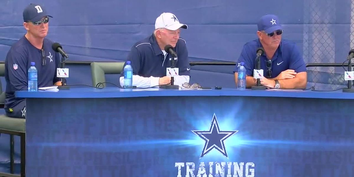 VIDEO: Dallas Cowboys press conference, Pt. 2